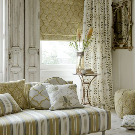 Natural fabric store natalie canning interiors co for Curtains that look like roman shades