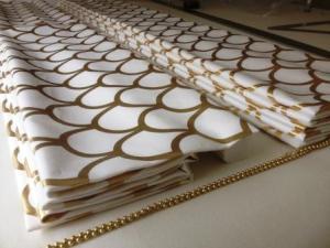 gold white roman blind suffolk
