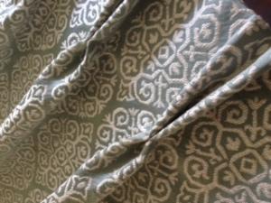linen duckegg fabric