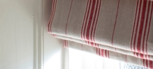 Inchyra - Linens - blind Woven Ticking Cardinal LS HR